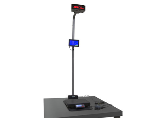 Rice Lake iDimension Walz SPS 3D dimensional scanner with scale