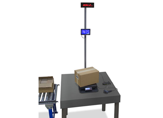 Walz SPS 3D dimensional weighing system